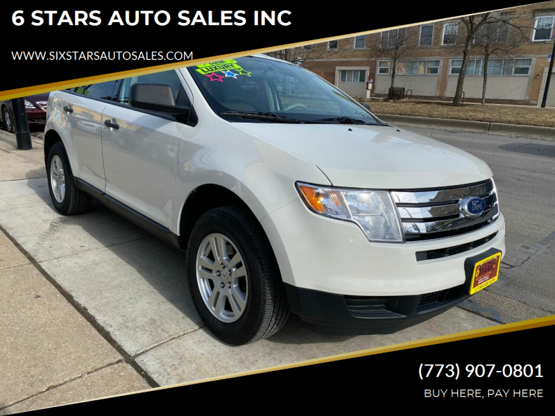 2010 Ford Edge for sale at 6 STARS AUTO SALES INC in Chicago IL