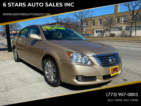 2009 Toyota Avalon for sale at 6 STARS AUTO SALES INC in Chicago IL