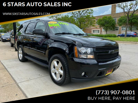 2007 Chevrolet Tahoe for sale at 6 STARS AUTO SALES INC in Chicago IL