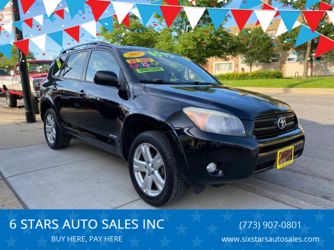 2007 Toyota RAV4 for sale at 6 STARS AUTO SALES INC in Chicago IL