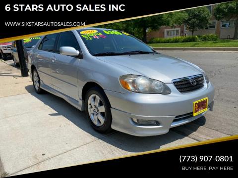 2007 Toyota Corolla for sale at 6 STARS AUTO SALES INC in Chicago IL