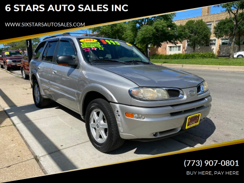 2004 Oldsmobile Bravada for sale at 6 STARS AUTO SALES INC in Chicago IL