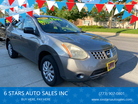 2008 Nissan Rogue for sale at 6 STARS AUTO SALES INC in Chicago IL