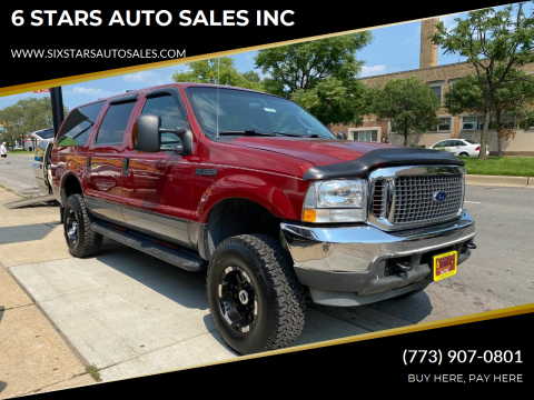 2004 Ford Excursion for sale at 6 STARS AUTO SALES INC in Chicago IL