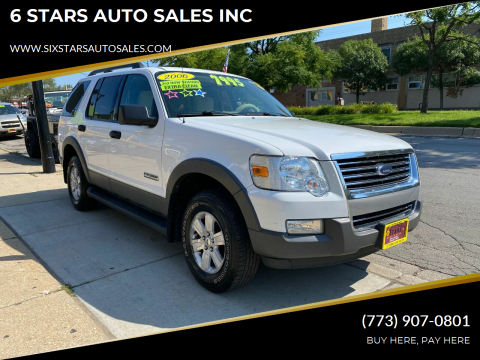 2006 Ford Explorer for sale at 6 STARS AUTO SALES INC in Chicago IL
