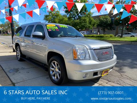 2012 GMC Yukon XL for sale at 6 STARS AUTO SALES INC in Chicago IL