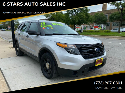 2015 Ford Explorer for sale at 6 STARS AUTO SALES INC in Chicago IL