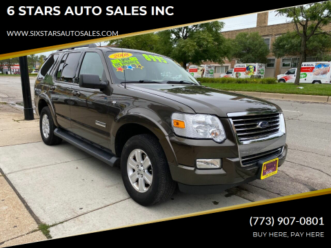 2008 Ford Explorer for sale at 6 STARS AUTO SALES INC in Chicago IL