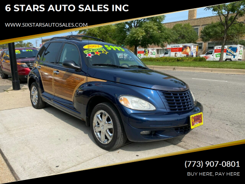 2003 Chrysler PT Cruiser for sale at 6 STARS AUTO SALES INC in Chicago IL