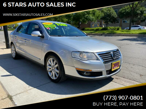 2010 Volkswagen Passat for sale at 6 STARS AUTO SALES INC in Chicago IL