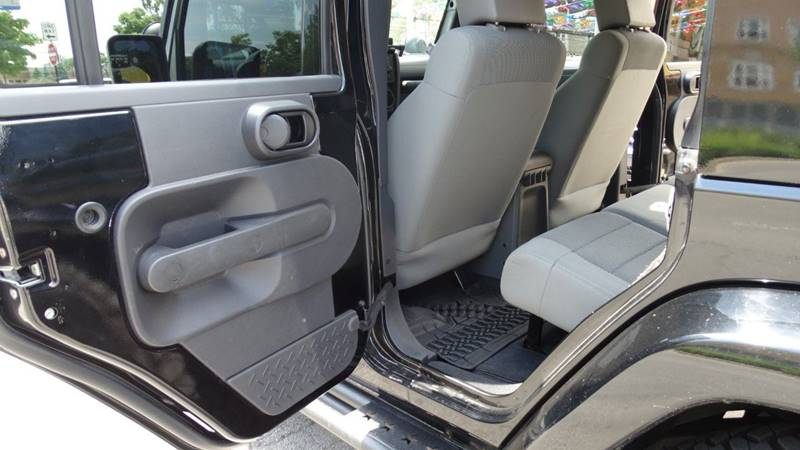 2007 Jeep Wrangler Unlimited for sale at 6 STARS AUTO SALES INC in Chicago IL