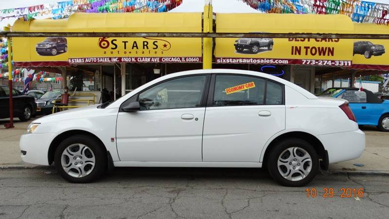 2004 Saturn Ion for sale at 6 STARS AUTO SALES INC in Chicago IL