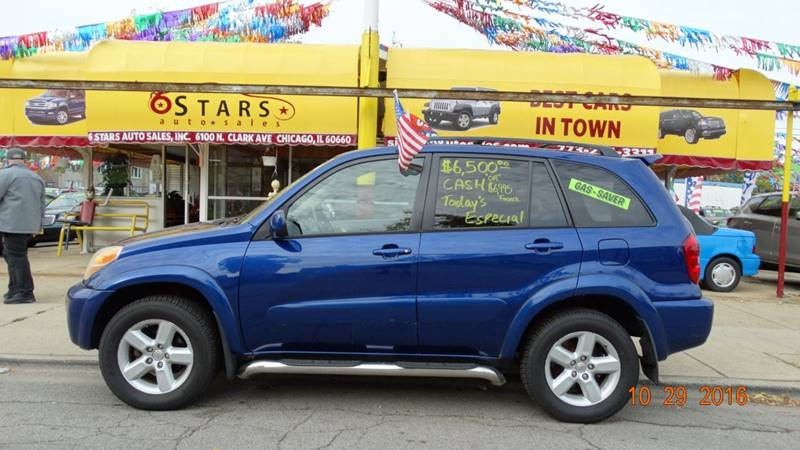 2004 Toyota RAV4 for sale at 6 STARS AUTO SALES INC in Chicago IL