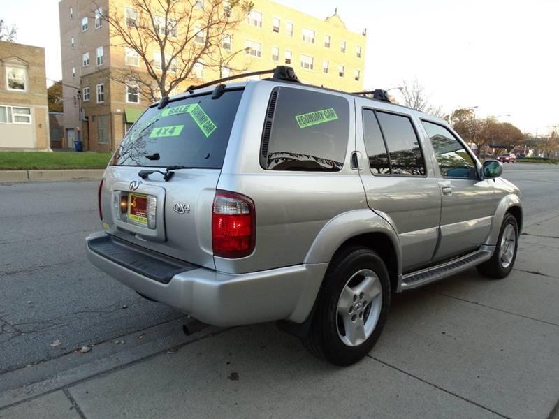 2003 Infiniti QX4 for sale at 6 STARS AUTO SALES INC in Chicago IL