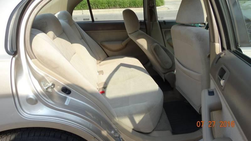 2002 Honda Civic for sale at 6 STARS AUTO SALES INC in Chicago IL