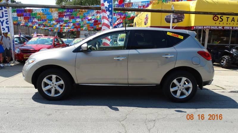 2010 Nissan Murano for sale at 6 STARS AUTO SALES INC in Chicago IL