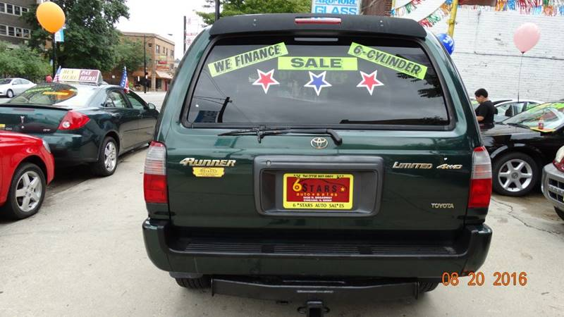 1999 Toyota 4Runner for sale at 6 STARS AUTO SALES INC in Chicago IL