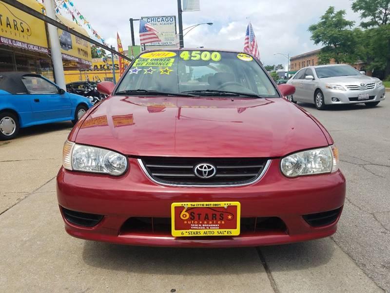 2001 Toyota Corolla for sale at 6 STARS AUTO SALES INC in Chicago IL