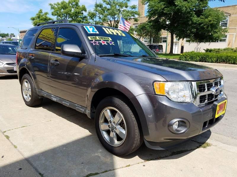 2012 Ford Escape for sale at 6 STARS AUTO SALES INC in Chicago IL
