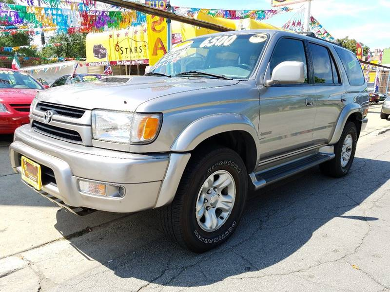2002 Toyota 4Runner for sale at 6 STARS AUTO SALES INC in Chicago IL