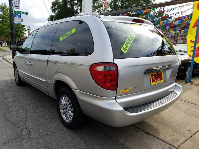 2002 Chrysler Town and Country for sale at 6 STARS AUTO SALES INC in Chicago IL