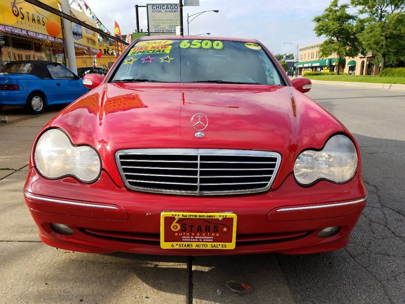 2003 Mercedes-Benz C-Class for sale at 6 STARS AUTO SALES INC in Chicago IL