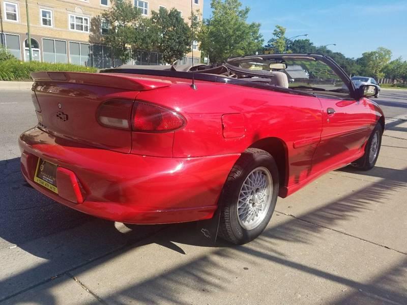 1999 Chevrolet Cavalier for sale at 6 STARS AUTO SALES INC in Chicago IL