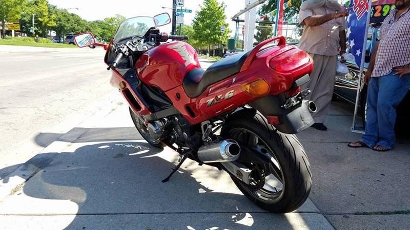 2002 Kawasaki ZX600 for sale at 6 STARS AUTO SALES INC in Chicago IL