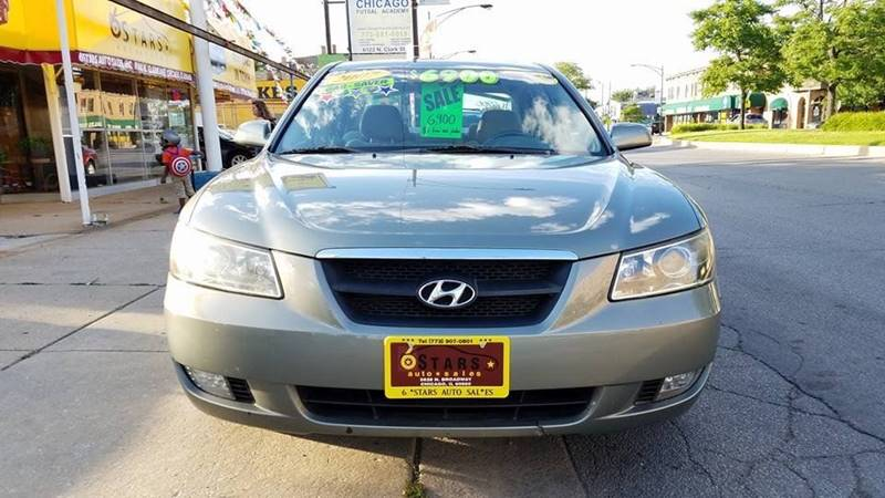 2007 Hyundai Sonata for sale at 6 STARS AUTO SALES INC in Chicago IL