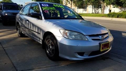 2004 Honda Civic for sale at 6 STARS AUTO SALES INC in Chicago IL