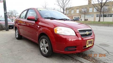 2008 Chevrolet Aveo for sale at 6 STARS AUTO SALES INC in Chicago IL
