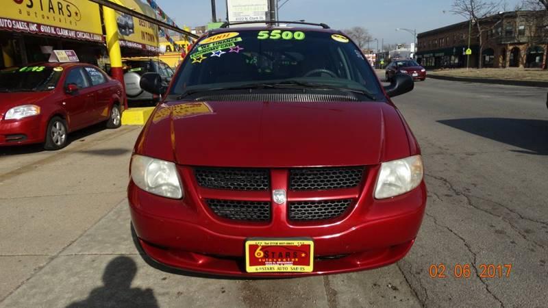 2001 Dodge Caravan for sale at 6 STARS AUTO SALES INC in Chicago IL