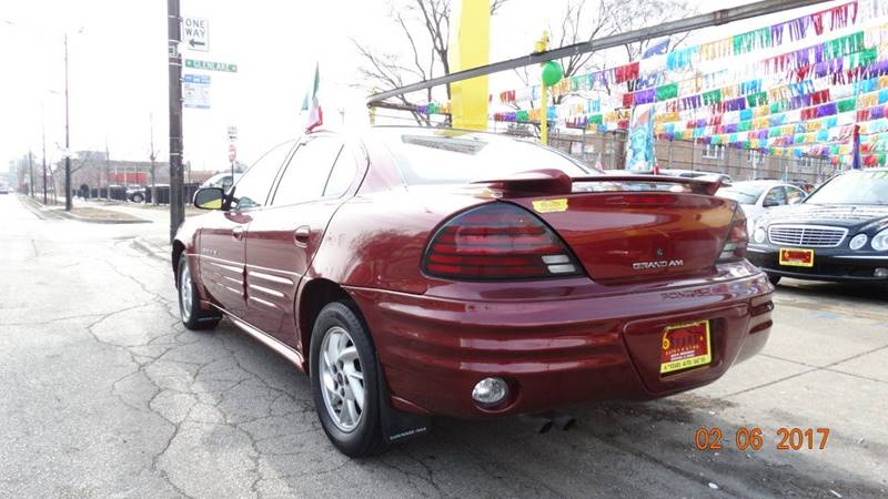 2001 Pontiac Grand Am for sale at 6 STARS AUTO SALES INC in Chicago IL