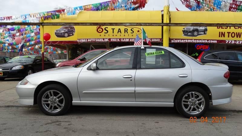 2003 Chevrolet Cavalier for sale at 6 STARS AUTO SALES INC in Chicago IL