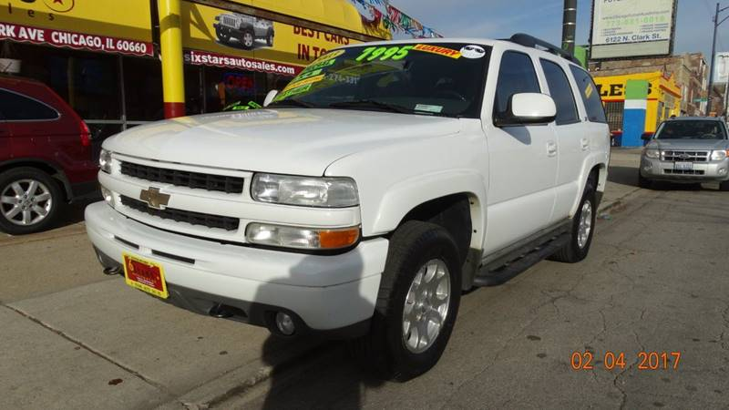 2003 Chevrolet Tahoe for sale at 6 STARS AUTO SALES INC in Chicago IL