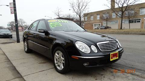 2004 Mercedes-Benz E-Class for sale at 6 STARS AUTO SALES INC in Chicago IL