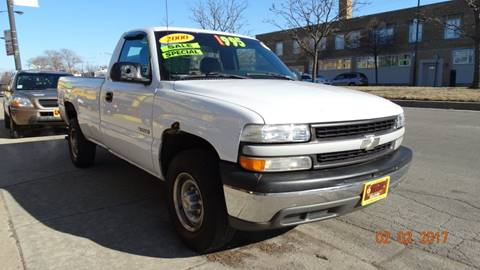 2000 Chevrolet Silverado 2500 for sale at 6 STARS AUTO SALES INC in Chicago IL