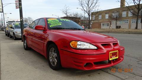 2002 Pontiac Grand Am for sale at 6 STARS AUTO SALES INC in Chicago IL