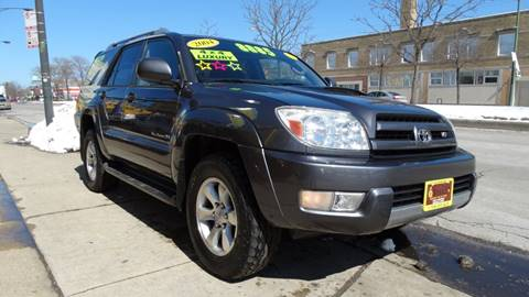 2004 Toyota 4Runner for sale at 6 STARS AUTO SALES INC in Chicago IL