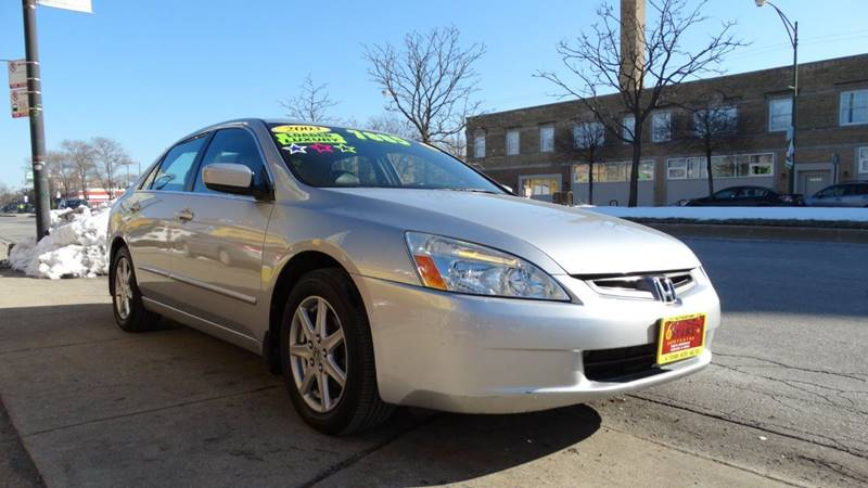 2003 Honda Accord for sale at 6 STARS AUTO SALES INC in Chicago IL