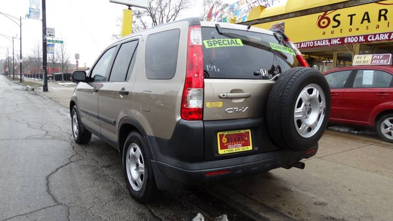 2006 Honda CR-V for sale at 6 STARS AUTO SALES INC in Chicago IL