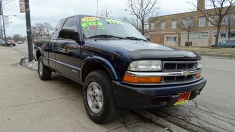 2003 Chevrolet S-10 for sale at 6 STARS AUTO SALES INC in Chicago IL