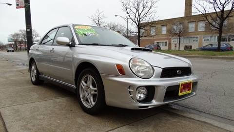 2002 Subaru Impreza for sale at 6 STARS AUTO SALES INC in Chicago IL