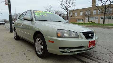 2004 Hyundai Elantra for sale at 6 STARS AUTO SALES INC in Chicago IL