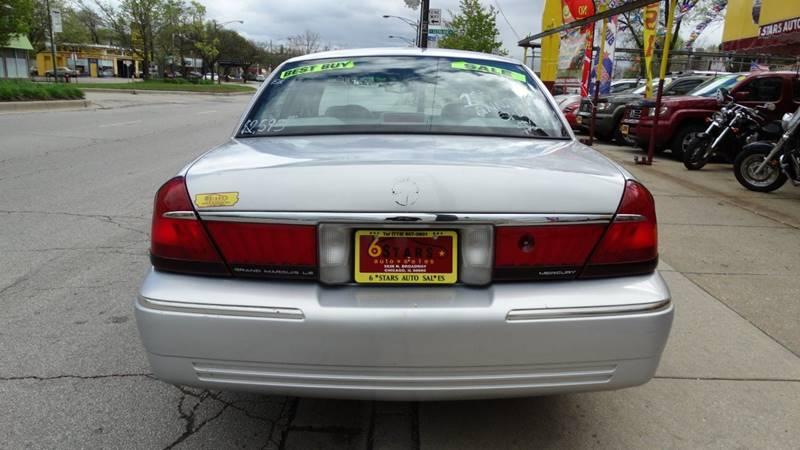 1998 Mercury Grand Marquis for sale at 6 STARS AUTO SALES INC in Chicago IL