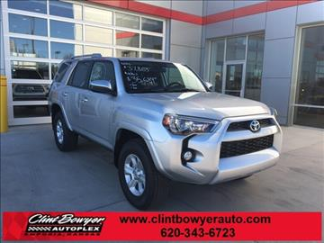 2016 Toyota 4Runner for sale in Emporia, KS
