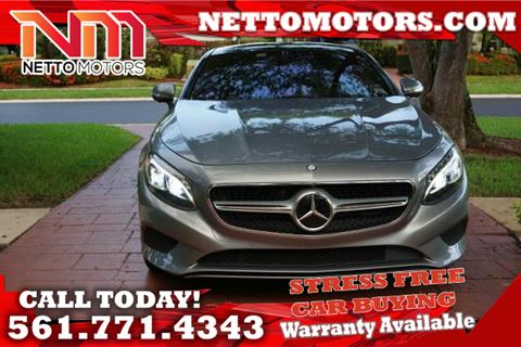 Mercedes benz s class for sale west palm beach fl for Woodbridge motors west palm beach fl
