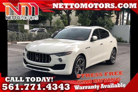 2017 Maserati Levante for sale in West Palm Beach, FL