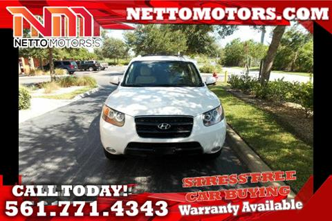 2007 Hyundai Santa Fe for sale in West Palm Beach, FL