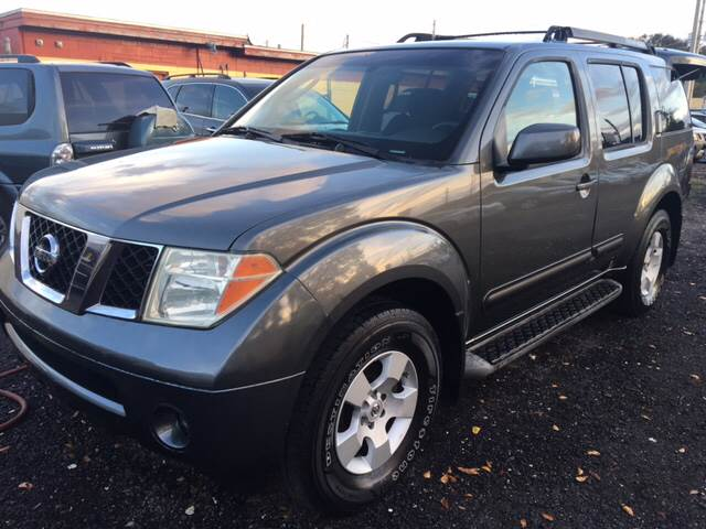 2005 Nissan Pathfinder For Sale At Arceu0027s Auto Sales In Jacksonville FL